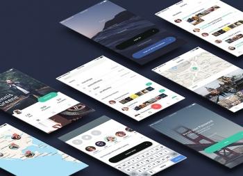 一款灰色系拍照UI Kit 工具包组件 for Sketch源文件