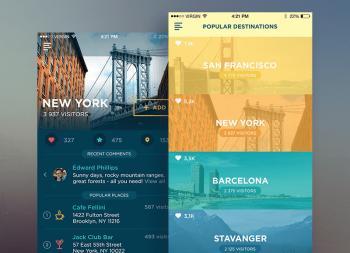 8个你需要知道的2017年App UI设计流行趋势