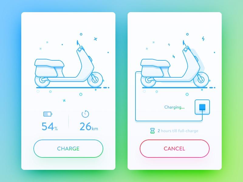 10 + 精致多彩 APP UI Kits 套装下载