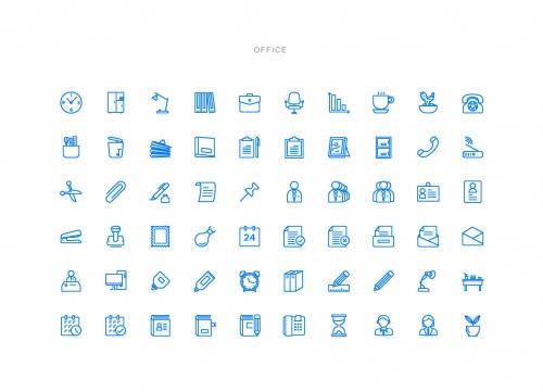 1000多个超实用的线框icon素材免费下载