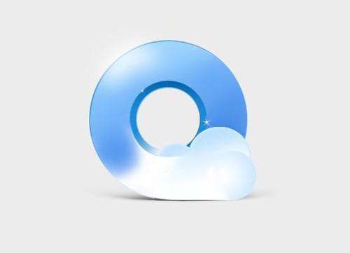 用photoshop临摹QQ浏览器图标教程