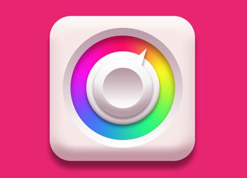 教你用photoshop渐变临摹一个icon图标