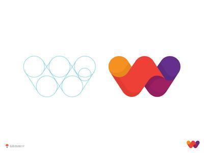 完美几何图形:绝对创意味十足的字母LOGO设计欣赏