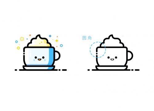 用AI(illustrator)绘制可爱的MBE风格图标