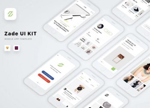 一套非常细腻的IOS版UI素材包:包含Sketch、XD模板源文件