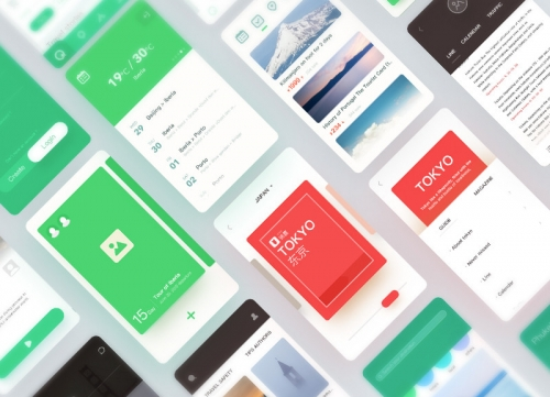 一组靠谱的APP UI界面产品概念设计方案
