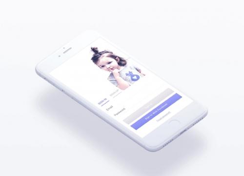 50+超精致的白色简洁风格 UI 模板套件PSD源文件
