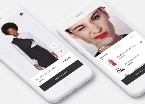时尚潮流的服饰电商APP UI KIT素材包sketch源文件