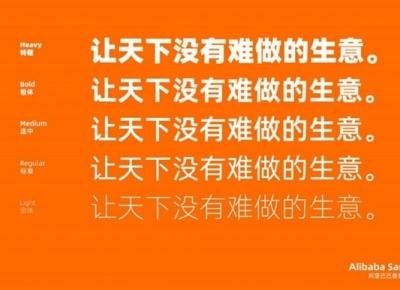阿里巴巴普惠体字体mac、Windows版免费下载,可商用