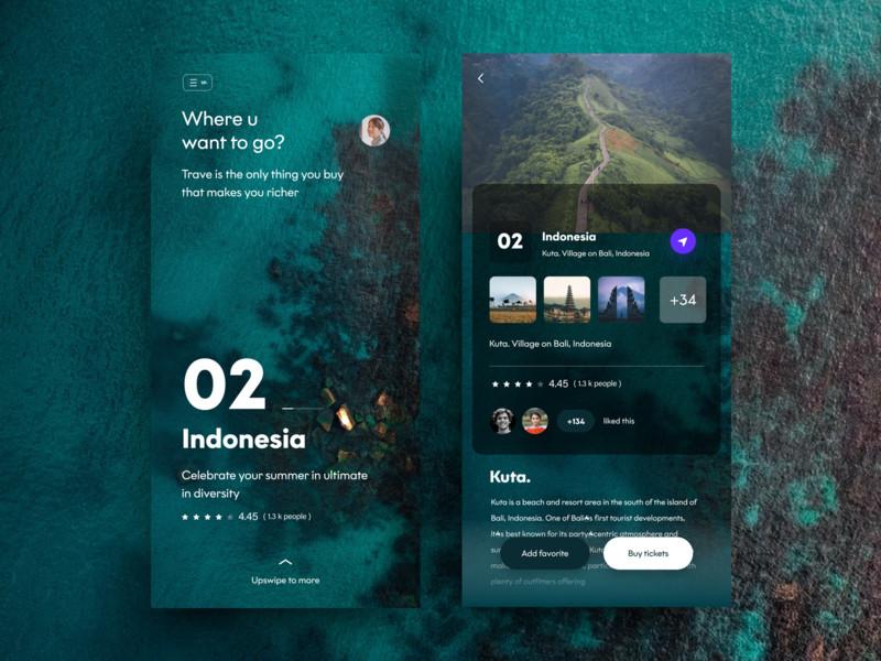 一组旅游产品APP UI界面设计欣赏(7)