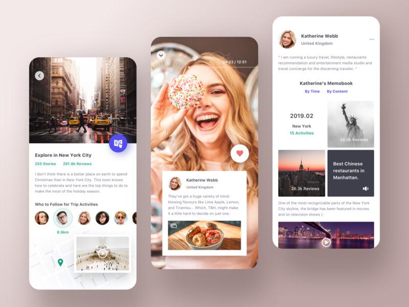 一组旅游产品APP UI界面设计欣赏(4)