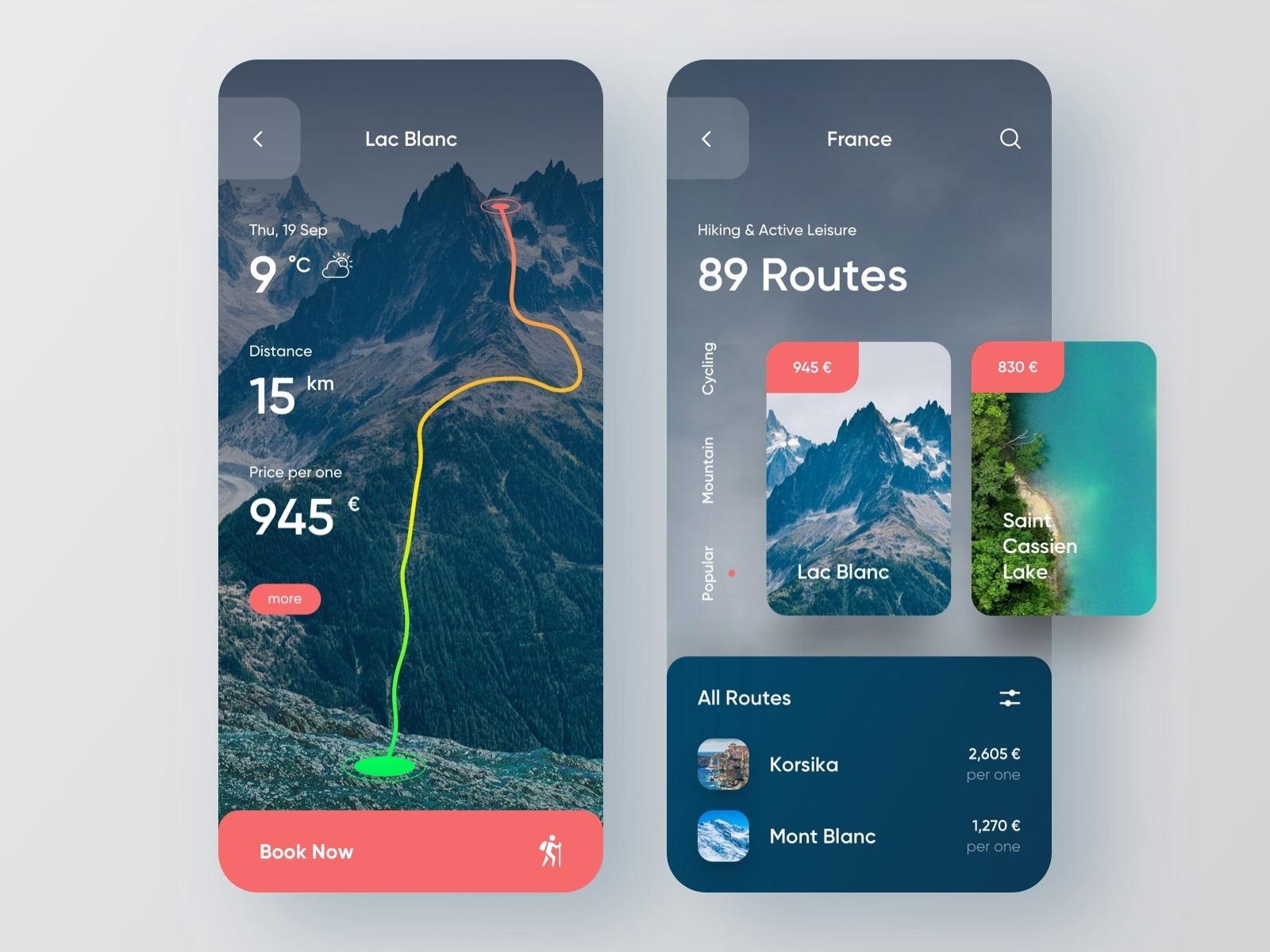 一组旅游产品APP UI界面设计欣赏(12)
