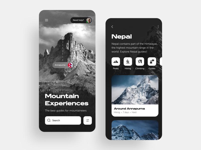 一组旅游产品APP UI界面设计欣赏(9)