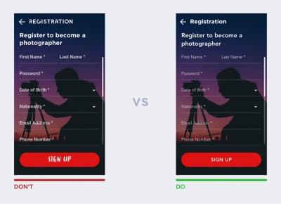 老鸟设计的实战经验:UI设计中的10条经验法则让你避免犯错