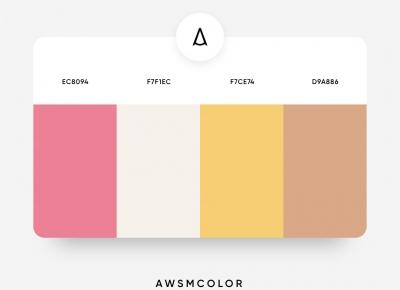 非常素雅的一组流行的配色参考